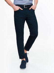 Kalhoty modrá tmavá 32