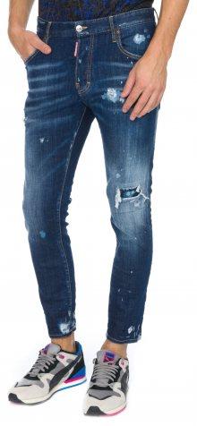 Skater Jeans DSQUARED2 | Modrá | Pánské | IT-52