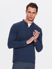 Tričko modrá tmavá M