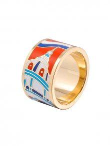 Rose Salome Jewels Dámský prsten RDZ003L_ORANGE BLUE WHITE\n\n