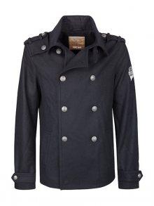 DreiMaster Pánský kabát s příměsí vlny\n\n
