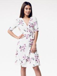 Rita Koss Dámské šaty RK55_PINK_FLOWERS