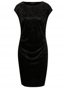 Černé sametové šaty Broadway Nunzia