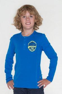 Sam 73 Chlapecké triko s dlouhým rukávem Sam 73 modrá jasná 140