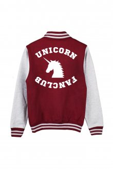 Mikina Baseball Unicorn Fanclub Veľ. M