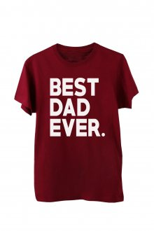 Tričko Best Dad Ever. vel. L