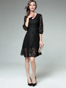 Kaimilan Dámské šaty QC696 Black