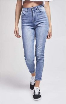 High Waist Blue Jeans Sik Silk S