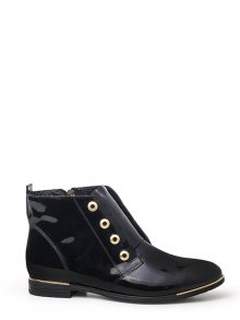 Lanqier Dámská kotníková obuv 37C363_black