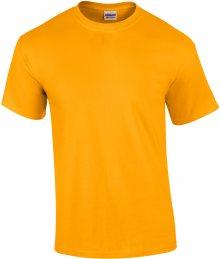 Tričko Gildan Ultra - Zlatá S