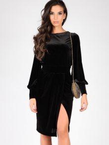 Carla by Rozarancio Dámské šaty CR17F P3077_BLACK