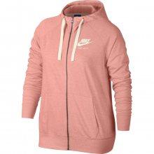 Nike W Nsw Gym Vntg Hoodie Fz růžová XS