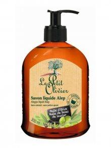 Le Petit Olivier Přírodní tekuté mýdlo s olivovým olejem 80% a vavřínovým olejem 20%, 300 ml\n\n