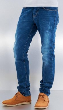 Džíny Gama modrá W30/L34