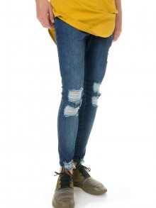 Ripped Jeans Blue Illusive London M