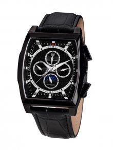 Mathis Montabon Pánské automatické hodinky MM-23 Carrée IP schwarz\n\n