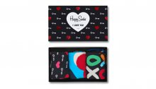 Happy Socks I love you Multicolor XHEA08-9000