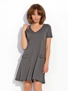 Numinou Dámské šaty NU_nu14-graphite\n\n