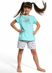 Dětské pyžamo Cornette 788/56 122/128 Světle modrá