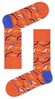 Papercut Ponožky Happy Socks | Oranžová | Pánské | 41-46