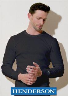 Pánské tričko Henderson 2149 Basic Line L Černá