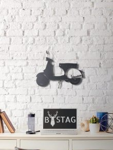 Bystag Kovová nástěnná dekorace\n\n