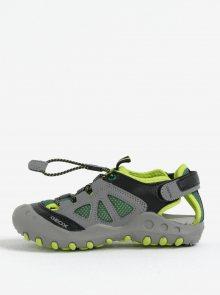 Zelené klučičí sandály Geox