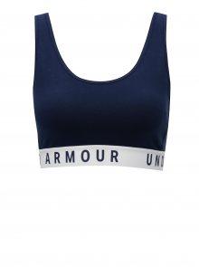 Tmavě modrá sportovní podprsenka Under Armour