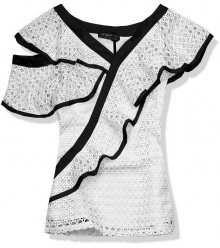 Černo-bílý asymetrický top