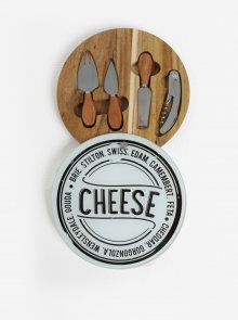 Sada náčiní na přípravu sýrů s prkýnkem SIFCON