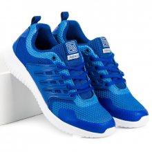 Lehké sportovní modré pánské tenisky