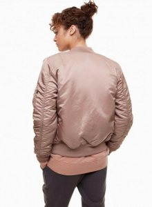 Bomber Pink MA-1 VF LW Reversible Women M