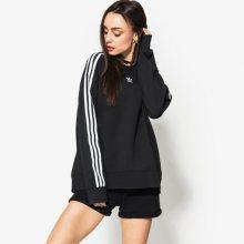 Adidas Mikina Crew Sweater Ženy Oblečení Mikiny Ce2431 Ženy Oblečení Mikiny Černá US M
