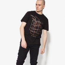 Confront Tričko Ss Juniper Muži Oblečení Trička Cf18Tsm16001 Muži Oblečení Trička Černá US M