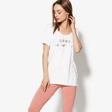 Nike T-Shirt Ss W Nsw Tee Love Ženy Oblečení Trička Aj1315100 Ženy Oblečení Trička Bílá US S