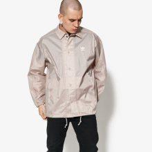 Adidas Bunda Tref Coach-Jkt Muži Oblečení Podzimní Bundy Cw1316 Muži Oblečení Podzimní Bundy Béžová US S