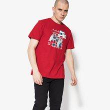 Confront Tričko Ss Game Muži Oblečení Trička Cf18Tsm14001 Muži Oblečení Trička Červená US L