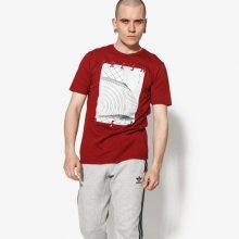 Nike Tričko Ss M Nsw Tee Af1 3 Muži Oblečení Trička 911928-677 Muži Oblečení Trička Bordová US XXL