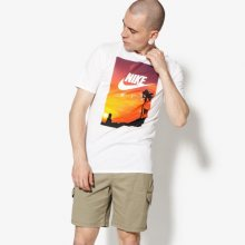 Nike Tričko Ss M Nsw Tee Ftwr 4 Muži Oblečení Trička 911952-100 Muži Oblečení Trička Bílá US XXL