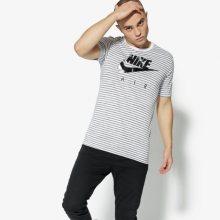 Nike Tričko Ss M Nsw Tee Tb Am90 2 Muži Oblečení Trička 892213-102 Muži Oblečení Trička Bílá US XL