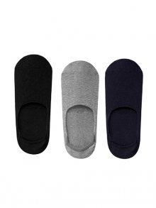 John Frank Set pánských ponožek - 3 ks JF3NSME17S02_MULTICOLOR