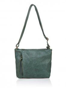 I Medici Firenze Dámská kožená kabelka 326-Verde Smeraldo 26