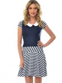 Natalee Dámské šaty RN168_navy & white