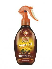 VIVACO Opalovací olej s arganovým olejem OF 10 rozprašovací 200 ml\n\n