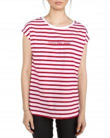 Tika-44 Triko Calvin Klein | Červená Bílá | Dámské | XS