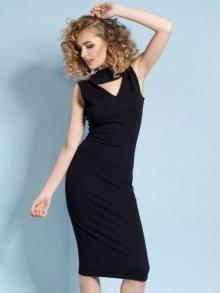 MDNZZ Dámské šaty MAD261_BLACK