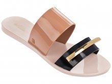 Melissa béžové pantofle Wonderful II Pink/Black