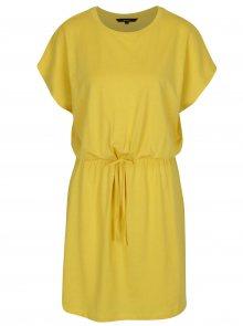 Žluté šaty VERO MODA Rebecca