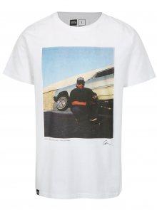 Bílé tričko s potiskem Dedicated Eazy-E