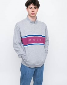 Obey PALISADE MOCK Heather Grey M